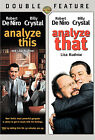Analyze That/Analyze This 2-Pack (DVD, 2007, 2-Disc Set)
