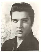 "ELVIS PRESLEY 8X10"" B&W Photo Used Photograph #1"