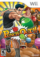 Punch-Out (Nintendo Wii, 2009) NO MANUAL