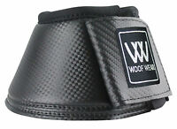 WOOF WEAR PRO OVERREACH BOOTS BLACK OR WHITE SMALL MEDIUM OR LARGE