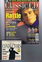 SIMON RATTLE  Classic CD magazine with CD No. 88 August 1997