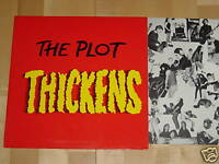 LP THE PLOT - THICKENS - DUTCH PUNK + INSERT - MINT