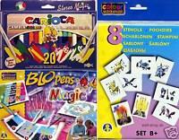 Pustestift Blopens Magic Zauberstifte Pens 14 Schablonen B Sparpaket