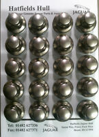 GENUINE JAGUAR WHEEL NUTS SET BOLTS X-TYPE S-TYPE XJ XF XK QTY 20