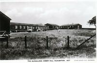 Bungalows Cober Hill Cloughton unused RP old postcard Queen Series