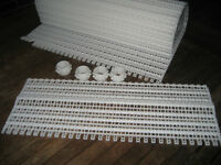 Modulband Modulbänder 30 cm breit 250 cm lang NEU Vliesfilter Förderband Zahnräd