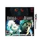 Zero Escape: Virtue's Last Reward - Nintendo 3DS Game