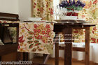Rural Style Home Decoration Two-sided Flower Cotton Table Cover 30cm X 150cm