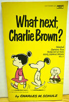 What Next, Charlie Brown? by Charles M Schulz - Paperback Book
