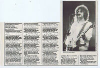 ELECTRIC LIGHT ORCHESTRA press clipping 1977 approx 15x23cm (5/11/1977)