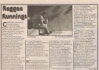 LONE RANGER press clipping 1982 (30/01/82)
