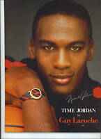 Michael Jordan La Roche TIME JORDAN Watch Store Display