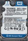 WD1600BEVS-08VAT2, DCM HHNT2ABB, Western Digital 160GB SATA 2.5 Hard Drive