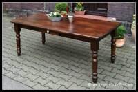 Tisch Esstisch Massivholz Landhaus Küchentisch Esszimmer Mod.03 220 antik Neu