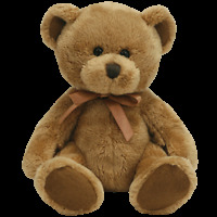 "TY BEANIE BABIES   ""FUDDLE""  THE BEAR MWMT"