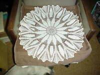 Beautiful Hand Crocheted Doily NEW HI-86
