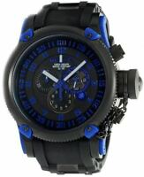 Invicta 0518 Mens Black Dial Chrono Russian Diver Watch