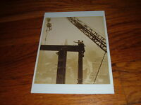 Lewis Hine Empire State Building Photo Putting A  Beam In Place Retro  Postcard