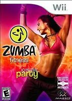 Zumba Fitness: Join The Party Nintendo Wii,2010 Complete w/Orig Art,Case,Man VG