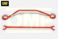 OMP FRONT & REAR STRUT BRACE FORD FIESTA MK3 XR2i 1.6