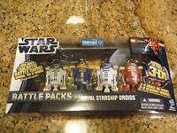 STAR WARS BATTLE PACKS ROYAL STARSHIP ASTROMECH DROIDS R2-R9 R2-N3 R2-B1 R2-D2!