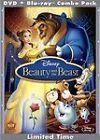 Beauty and the Beast (Blu-ray/DVD, 2010, 3-Disc Set, Diamond Edition) DISNEY NEW