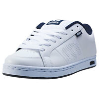 Etnies Kingpin Hommes Baskets White Navy Neuf Chaussure