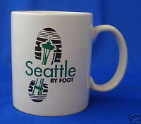 coffee crawl mug cup Seattle by Foot space needle