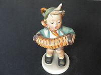 """Hummel Goebel Figurine 185, TMK-3  """"Accordion Boy"""" """"Stylizied Bee"""" Mark .EX!!"""