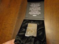 EMPLOYEE ONLY 75TH ANNIVERSARY ZIPPO LIGHTER MINT IN BOX VERY LIMITED EDITION