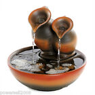 New Fashion Home Decorative 25*25*22cm Ceramics Two Crock Flowing Water Fountain