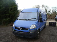 renault master  3.0L breaking spares vauxhall movano breaking   SPARE WHEEL ONLY