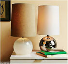 European Modern Minimalist Style Glass + Cloth Height 52cm Table Lamp/Light