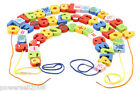 Changeable Colorful 54 Pieces Colored Beads Wooden Educational Toys
