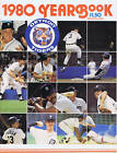 1980 Detroit Tigers MLB Baseball YEARBOOK