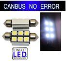 2 ampoule de plaque à 18 led smd SANS / ANTI ERREUR ODB CANBUS + RADIATEUR