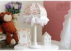 European Pastoral Princess Style With Beautiful Cartoon Study Pink Table Lamp