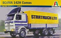 ITALERI 1:24 KIT TRUCK CAMION SCANIA 142H CANVAS STARTRUCK 762