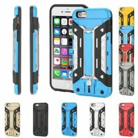 Heavy Duty Armour Shockproof Army Hard Case Cover for Apple iPhone 5 6 6s + SE