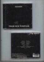 """These New Puritans – """" Hidden """" CD 2010 - neu !"""