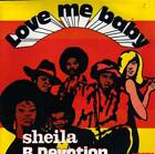 RECORD single 45 SHEILA B DEVOTION LOVE ME BABY