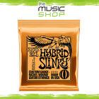 5 x Ernie Ball 2222 Hybrid Slinky Electric Guitar Strings 9-46 - Orange - Bulk