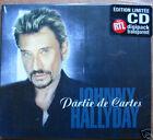 JOHNNY HALLYDAY - Partie de cartes DIGIPACK CD 2T TRANSPARENT