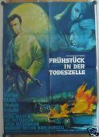 FRÜHSTÜCK IN DER TODESZELLE (Kinoplakat '64) - LAURENCE HARVEY
