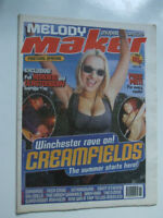 CREAMFIELDS / GARBAGE / NICK CAVE Melody Maker May 9 1998
