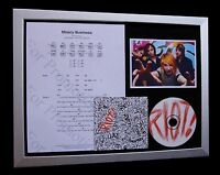 PARAMORE Misery Business LTD CD MUSIC FRAMED DISPLAY+EXPRESS GLOBAL SHIPPING