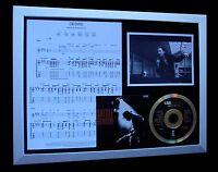 U2 Desire LTD NOD QUALITY CD FRAMED DISPLAY+EXPRESS GLOBAL SHIP!!