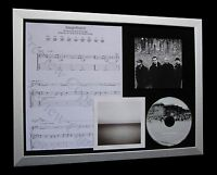 U2 Magnificent LTD NOD QUALITY CD FRAMED DISPLAY+EXPRESS GLOBAL SHIP!!