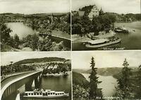 Alte Ansichtskarte Postkarte Saalburg Mehrbild s/w 1969