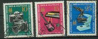 DDR Briefmarken 1965 Leipziger Herbstmesse Mi 1130 bis 1132